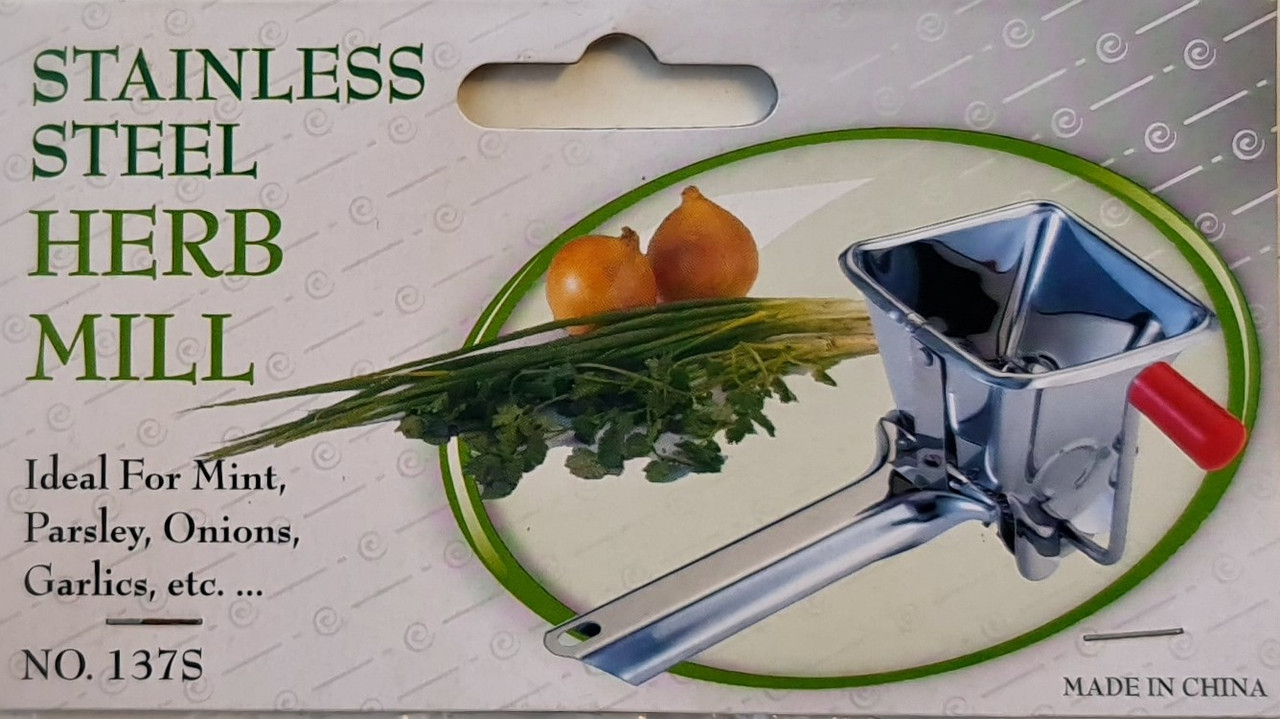 HERB-MILL STAINLESS STEEL