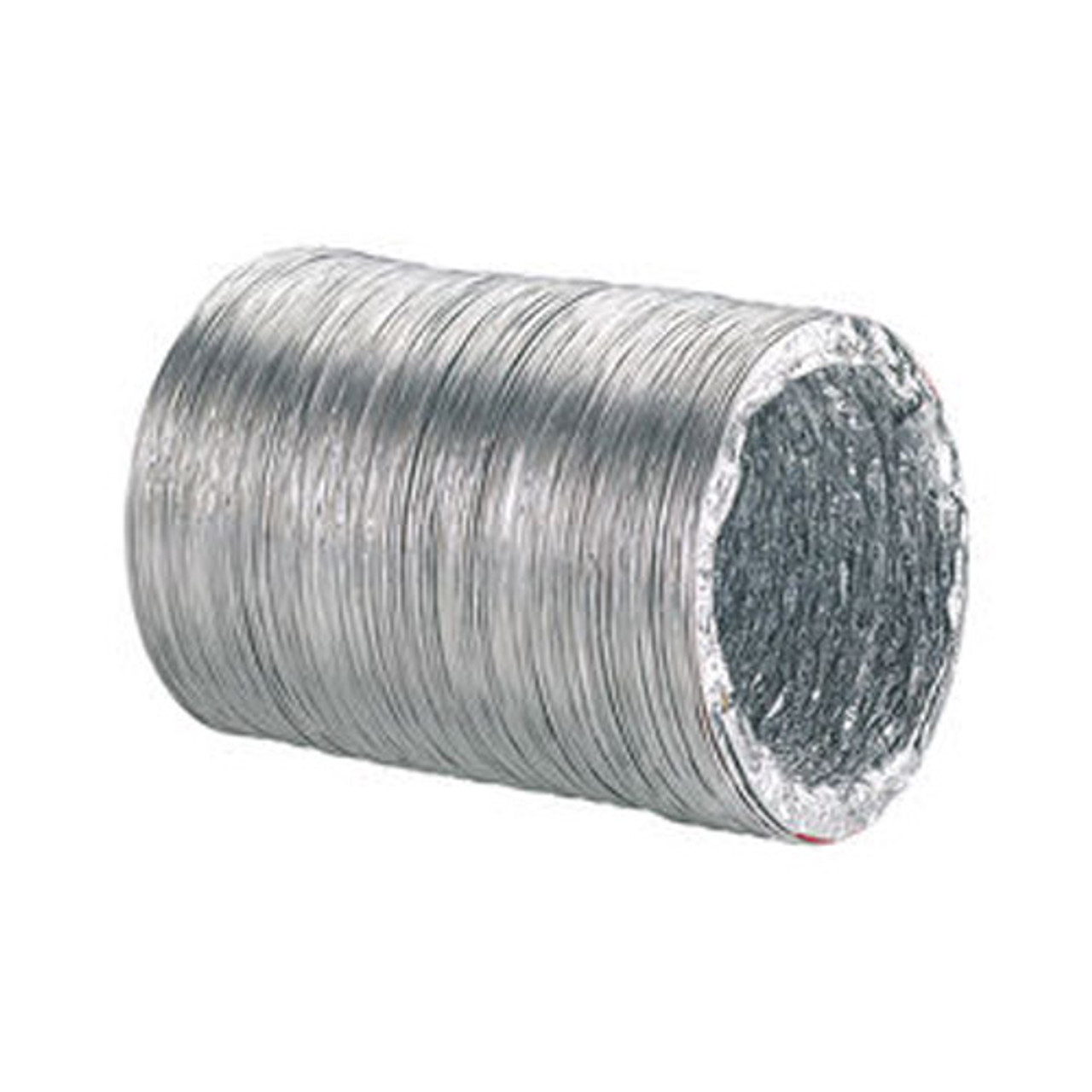 DUCTING NUDE SILVER ALUMINIUM 150MM X FIVE METRE BOXED