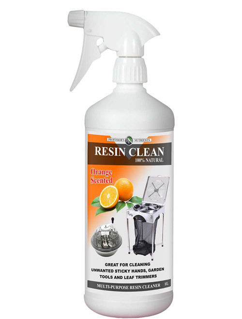 PROFESSOR'S RESIN CLEAN ONE LITRE (TRIGGER TOP)