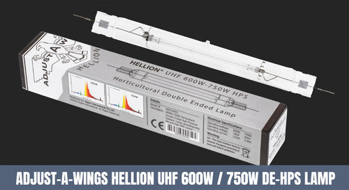 ADJUST-A-WING HELLION DE 600 - 750 WATT HPS LAMP