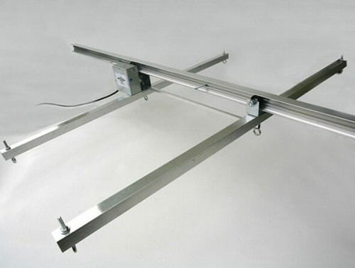 JUPITER 2 LIGHT 4 MTR RAIL 2 - 6 LAMPS 2 X BARS + P/ROD - KIT- 4 - (DELAY)
