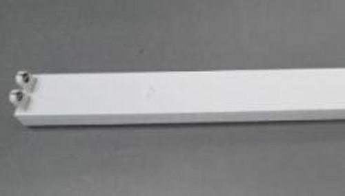 BARE FLURO BATTEN 2FT / 600MM SUITS 2 X 18 WATT TUBES WITH LEAD