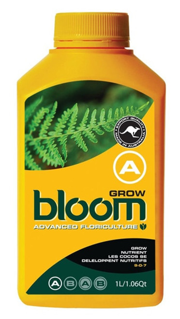 BLOOM - GROW A & B - ONE LITRE SET