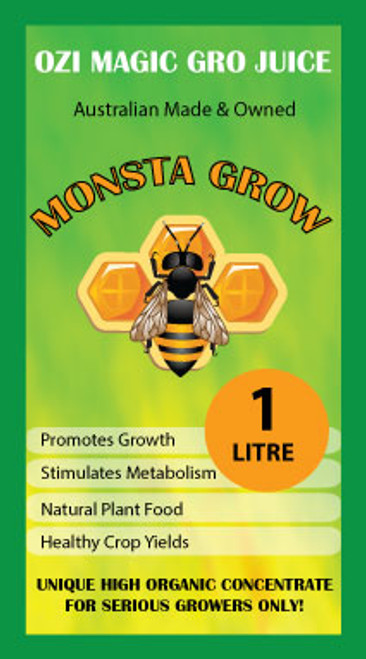 MONSTA GROW SINGLE PART ONE LITRE