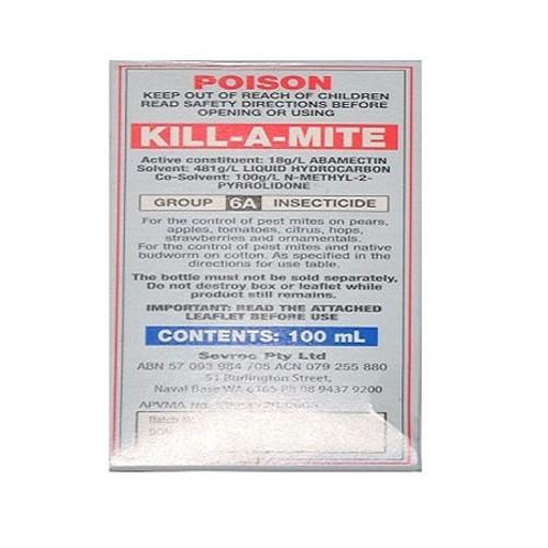 KILL-A-MITE 100 MLS