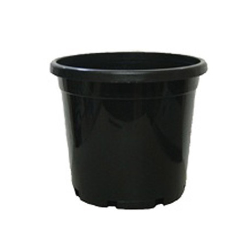 300MM STANDARD BLACK POT WITH HOLE