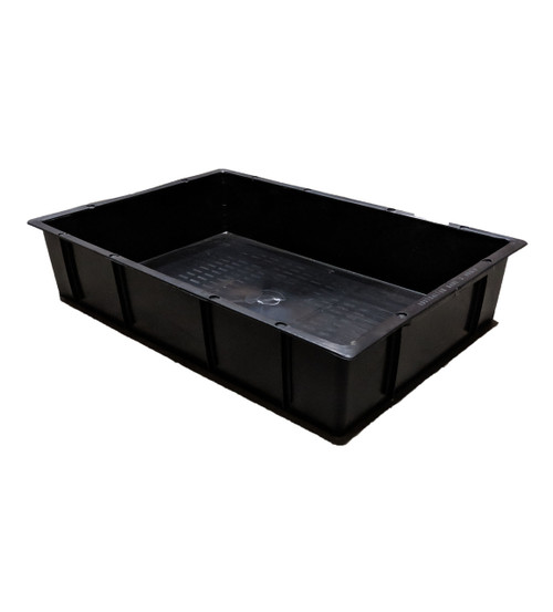 CROP-BOX BLACK 23 LITRE SOLID BASE