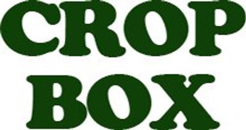 CROP-BOX BLACK 45 LITRE GRATED BASE
