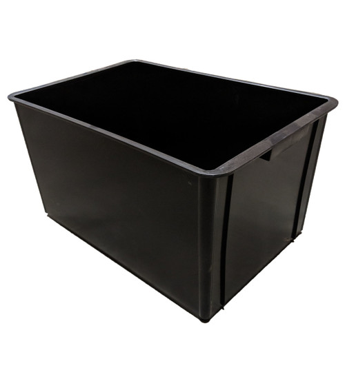 CROP-BOX BLACK 65 LITRE SOLID BASE