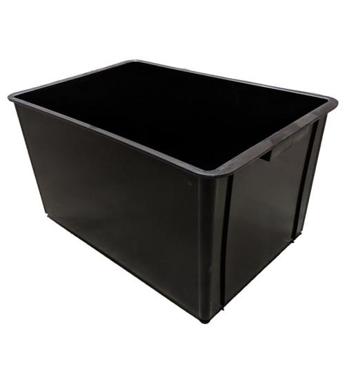 CROP-BOX BLACK 65 LITRE SOLID BASE