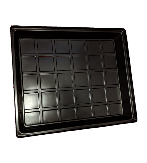 HEAT N GROW CLEAR BLACK CATCHMENT TRAY