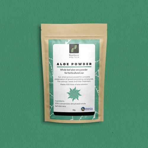 ALOE ORGANIC POWDER WHOLE LEAF SNT (AUST) CERTIFIED 50 GRAMS
