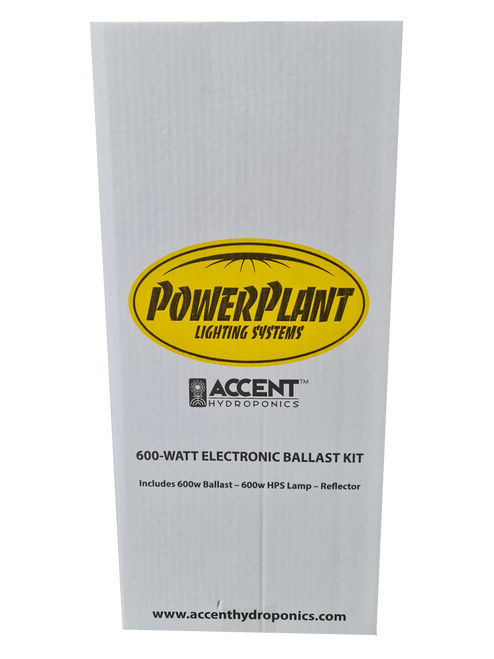 POWER-PLANT 600 WATT BOX KIT DIG/BAL - LAMP - WHITE/REF