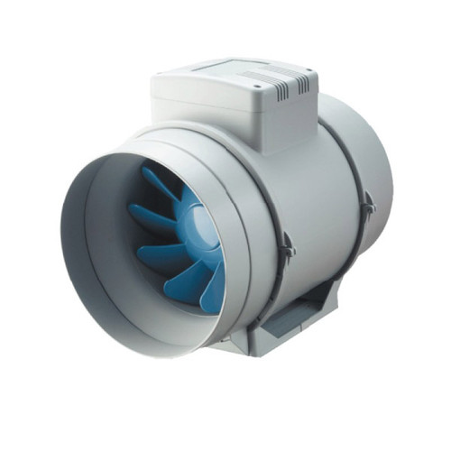 BLAUBERG TURBO 150-G 150MM MIXED FLOW INLINE S/C + THERMOSTAT