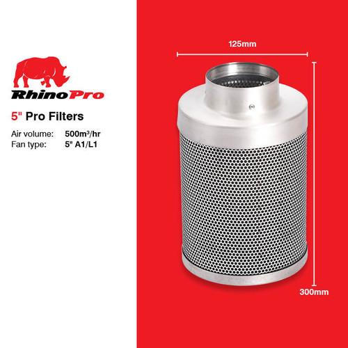 RHINO PRO CARBON FILTER 125MM X 300MM