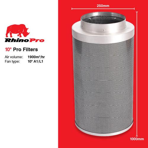 RHINO PRO CARBON FILTER 250MM X 1000MM