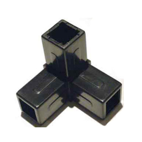 QUBELOCK 3 WAY CORNER BLACK