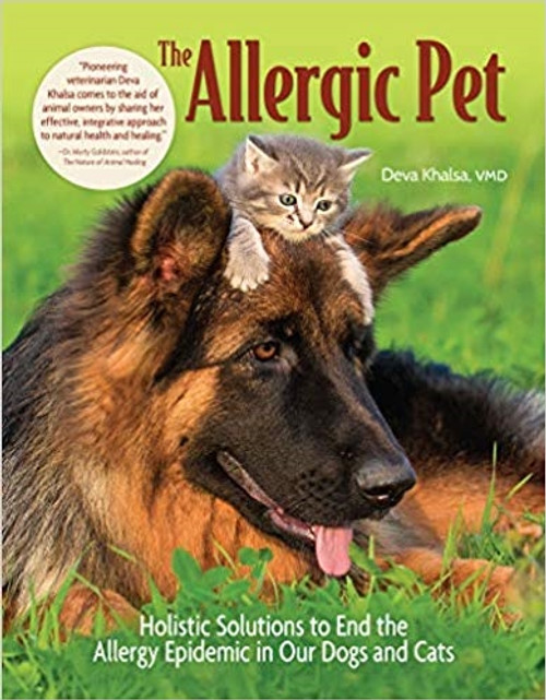 Allergy: Dog Kit with Vaccine Vial and The Allergic Pet Book