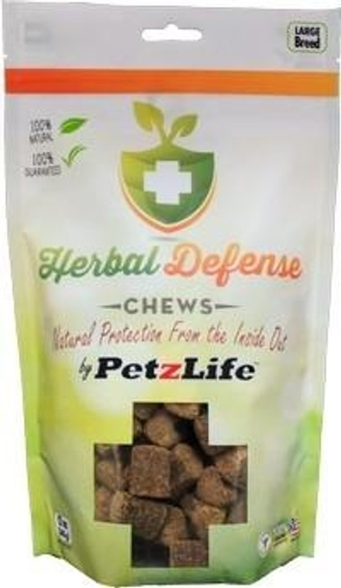 Petzlife Herbal Defense Chews for Large Dogs