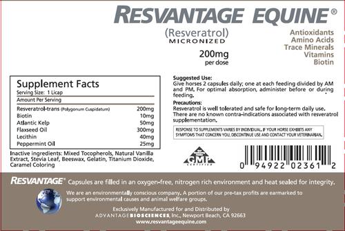 Resvantage Equine