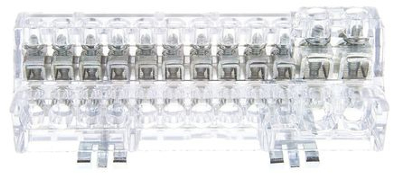 Busbar Common - 12 Way DIN-mount