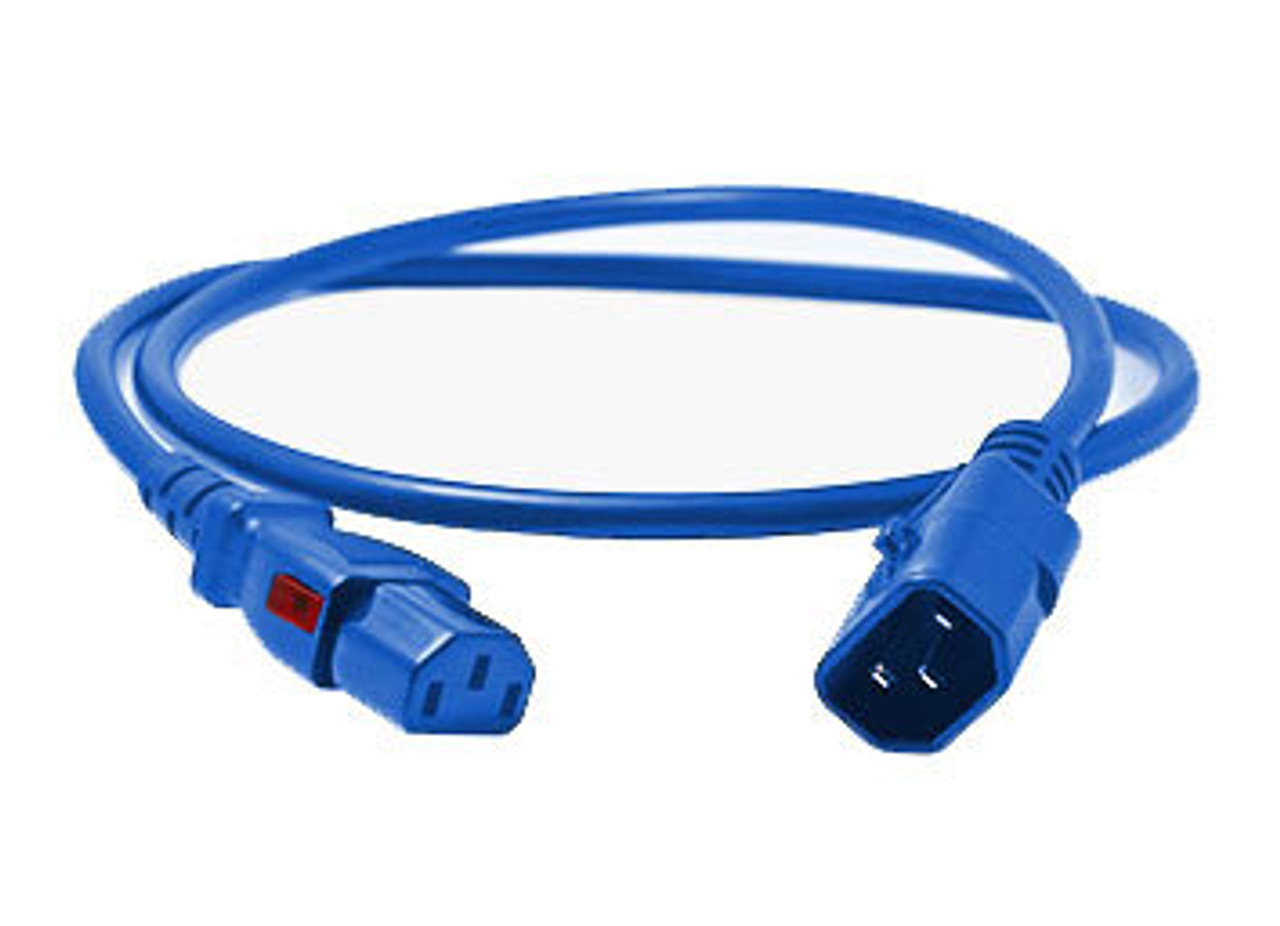 enLogic Cables: IEC C14 > IEC C13, Blue
