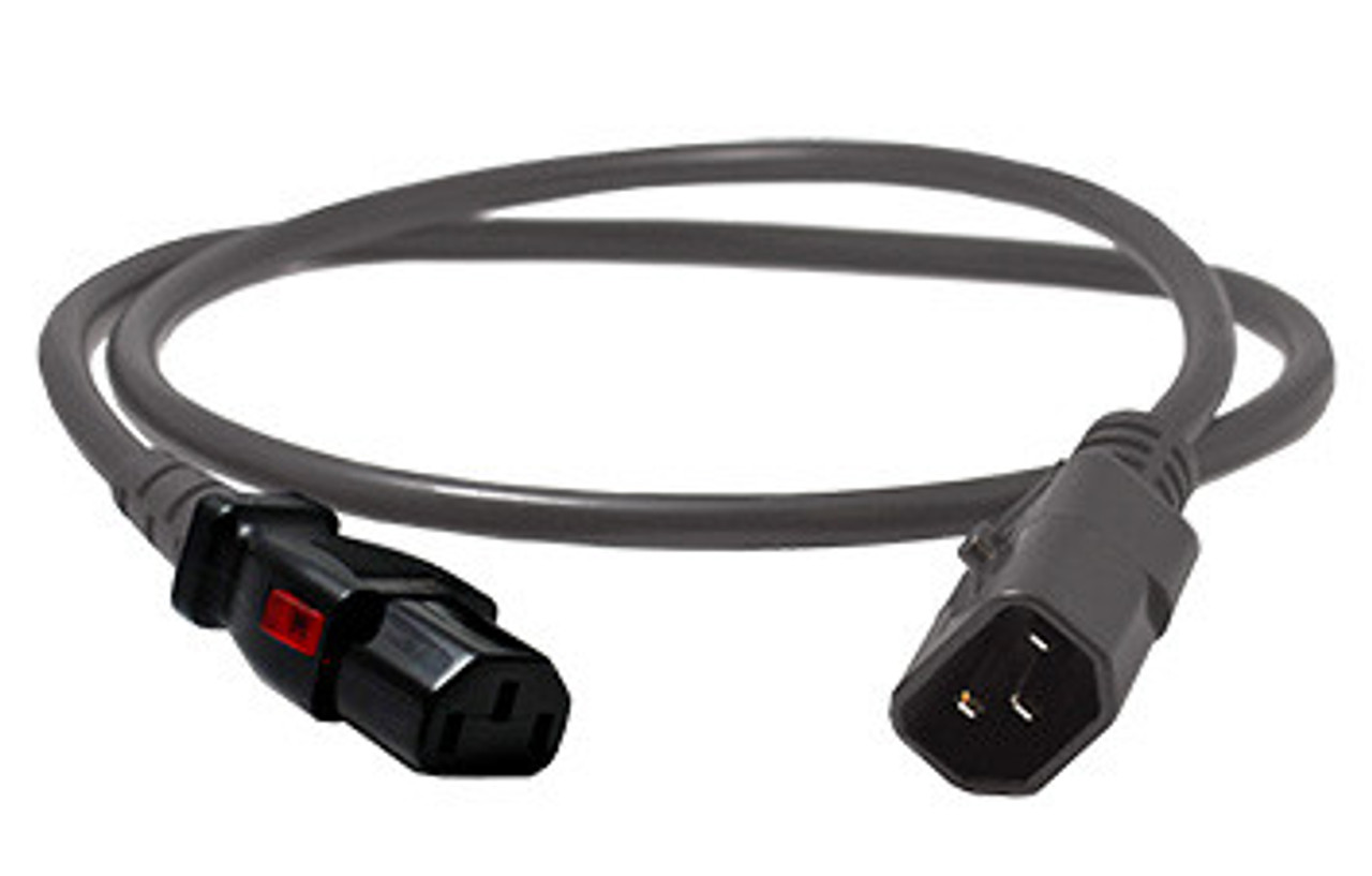 enLogic Cables: IEC C14 > IEC C13, Grey