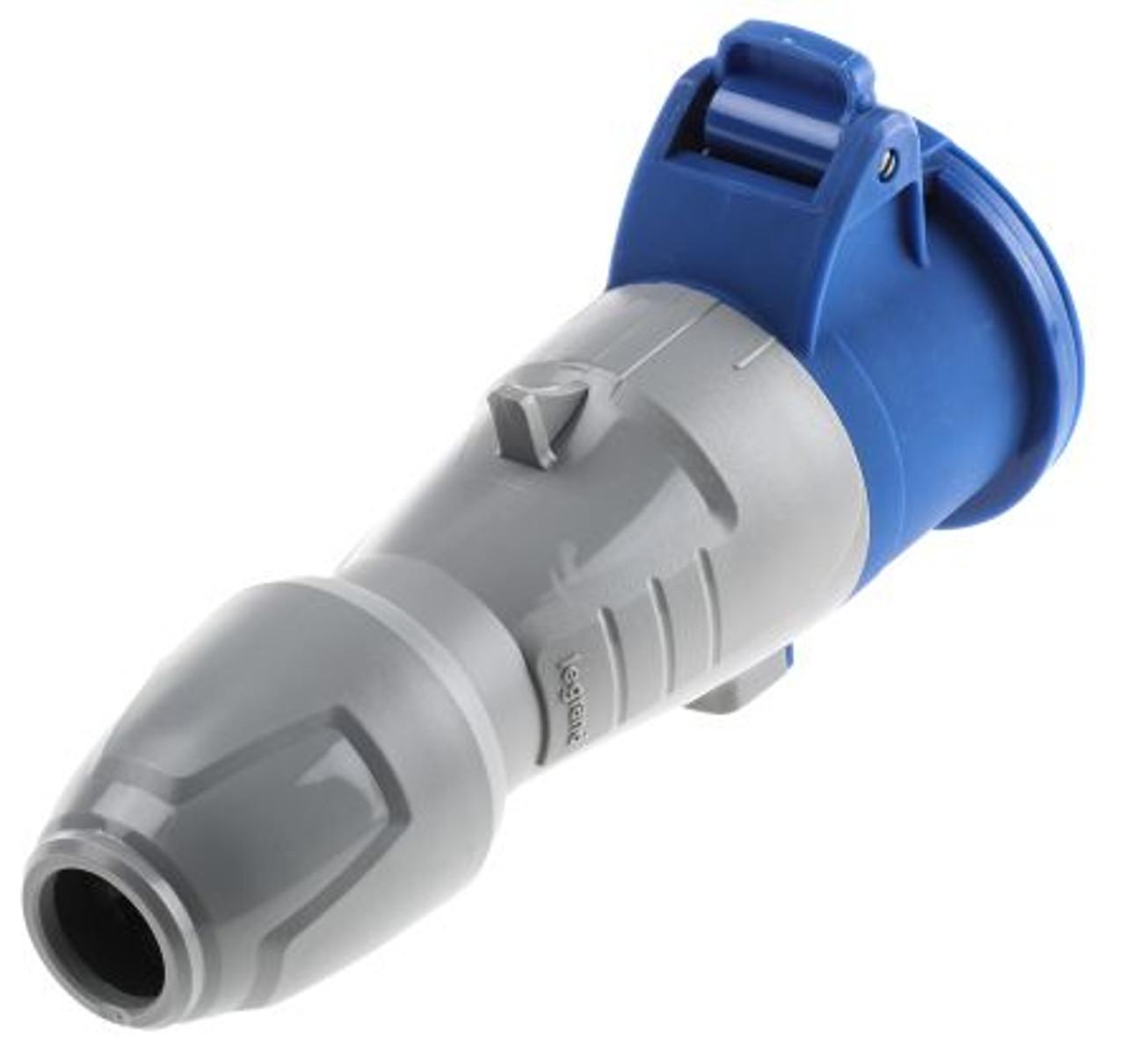 IEC (60309) 16A [IP44] 2P+E '6H' socket - Legrand