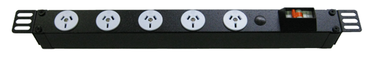 PDU: 5x Outlets | Aus GPO | 0.5m Vertical
