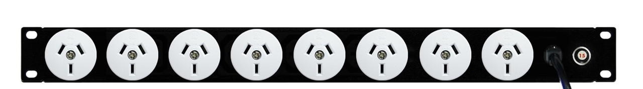 8x GPO 10A outlets
