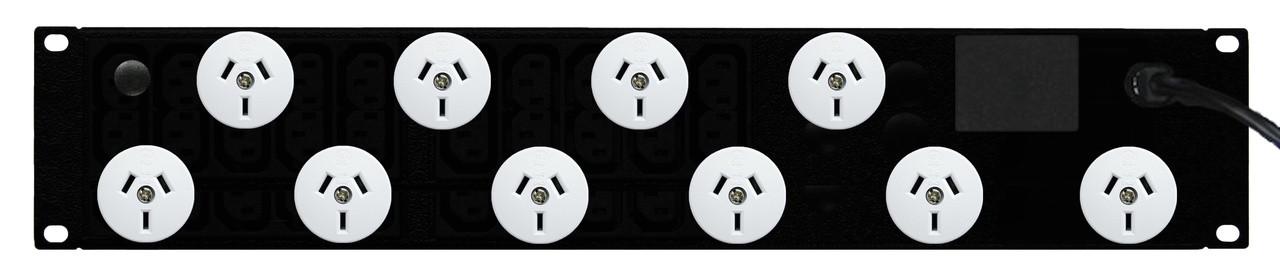 PDU: 10x Outlets | Aus GPO | 19'' 2RU Horizontal