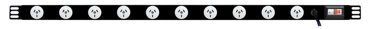 PDU: 10x Outlets | Aus GPO | 1.0m Vertical