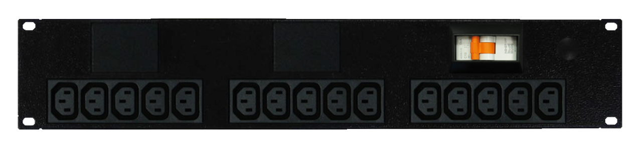 Power Strip: 15x Outlets | IEC C13 | 19'' 2RU Horizontal