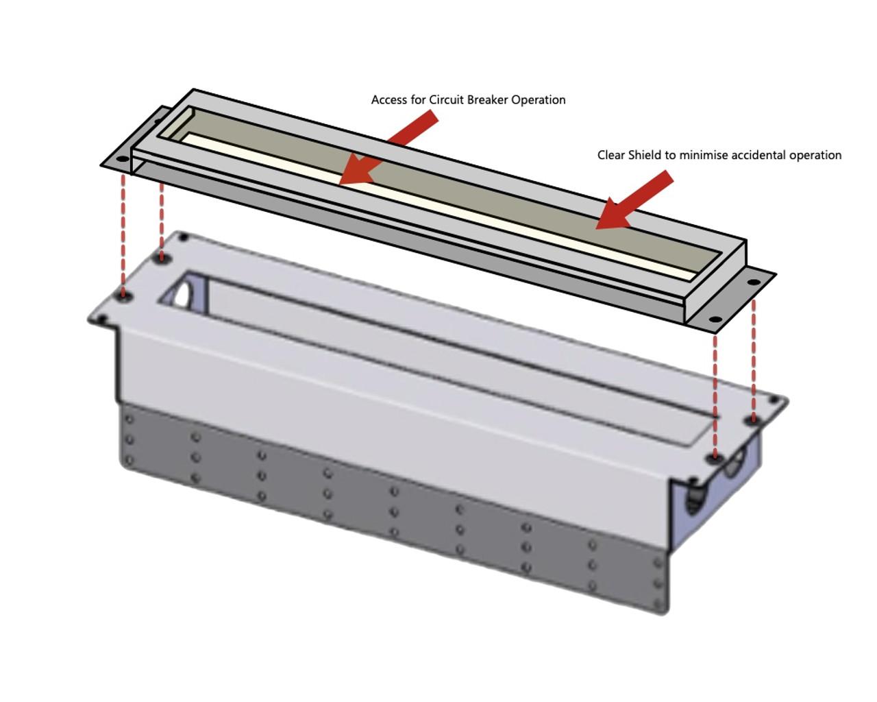 Easy installation - Showing 3RU unit