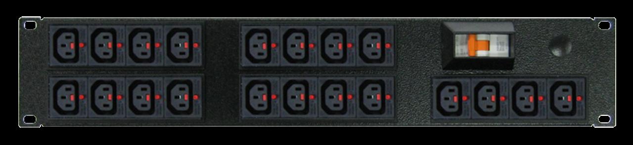 PDU: Branch |  20x Outlets | IEC-Lock C13 | 19'' 2RU Horizontal
