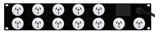 PDU: 12x Outlets | Aus GPO | 19'' 2RU Horizontal