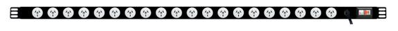 PDU: 20x Outlets | Aus GPO | 1.3m Vertical