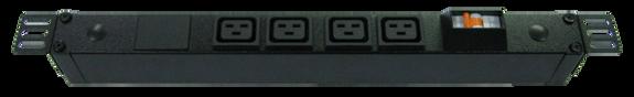 PDU: 4x Outlets | IEC C19 | 0.5m Vertical