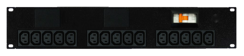 Power Strip: 15x Outlets | IEC C13 | 19'' 2RU Horizontal