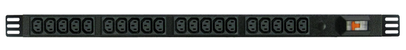 Power Strip: 20x Outlets | IEC C13 | 0.7m Vertical