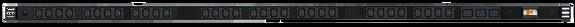 PDU: 32+3x Outlets | IEC-Lock C13+C19 | 1.7m Vertical