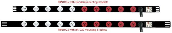 PBN10G3 : Showing BR1006 & BR1020 brackets