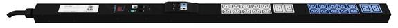 ES1502: 32A - 20x IEC C13, 4x IEC C19 outlets, 1.3m vertical mount