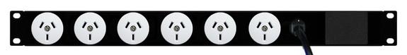 PDU: 6x Outlets | Aus GPO | 19'' 1RU Horizontal