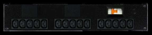 PDU: 15x Outlets | IEC C13 | 19'' 2RU Horizontal
