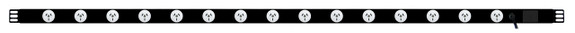Power Strip: 15x Outlets | Aus GPO | 1.7m Vertical