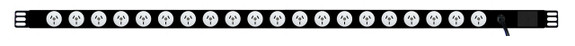 Power Strip: 20x Outlets | Aus GPO | 1.3m Vertical