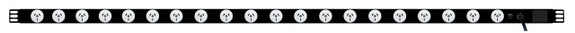 Power Strip: 20x Outlets   Aus GPO   1.7m Vertical