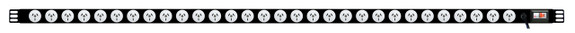 Power Strip: 30x Outlets | Aus GPO | 1.7m Vertical