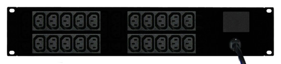 Power Strip: 20x Outlets | IEC C13 | 19'' 2RU Horizontal
